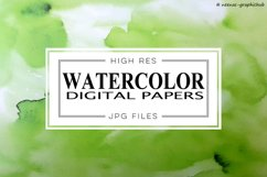 Watercolor Digital Papers Product Image 1