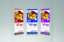 food roll-up banner Product Image 1