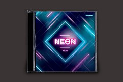 Neon CD Cover Artwork Product Image 2