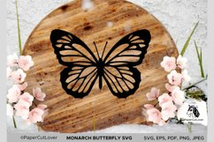 Monarch Butterfly SVG Stacked Butterfly Svg,3D Product Image 4