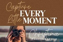 Christina Signature - Monoline Signature Font Product Image 8