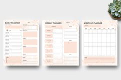 Daily - Weekly - Monthly Planner Sheet Product Image 2