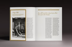 The Golden Magazine Indesign Template Product Image 4