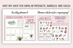 Daily Planner printable PDF - Daily spread - Undated planner Product Image 6