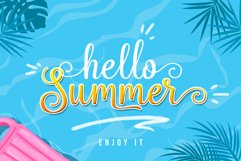 Hello Sweety // Script Font Product Image 4