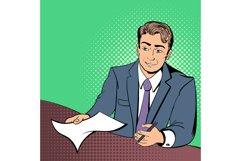 Lawyer comics concept Product Image 1