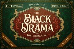 Black Drama Combination  Extras Product Image 1