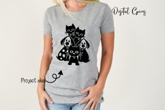 Cats and Dogs design! SVG / PNG / DXF / EPS files Product Image 5
