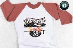 Class of 2028 Graduation Cap SVG Cut File Product Image 1