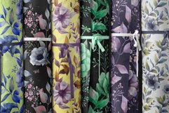 ANEMONE watercolor patterns set Product Image 4
