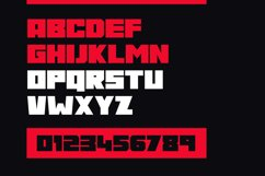 Gore Typeface Product Image 2