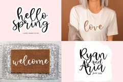 Spring Font Bundle - Fonts for Crafters Product Image 2