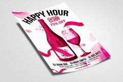 Happy Hour Flyer Template 04 Product Image 2