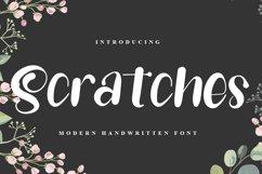Scratches - Modern Handwritten Font Product Image 1