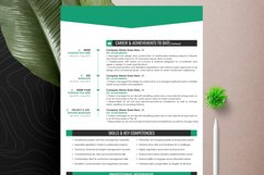 Clean Editable Resume Cv Template in Word Apple Pages Format Product Image 6