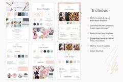 Brand Board Template Bundle Canva Product Image 2