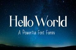 Hello World Font Family Product Image 1