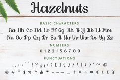 Hazelnuts - Handwritten Font Product Image 8