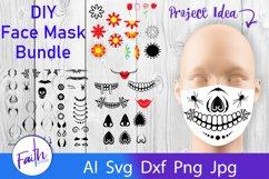 DIY Face Mask Design Kit Svg Cut Files Product Image 1