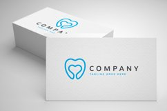 Dental Love Logo Template Product Image 2