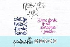 Spanish SVG Bundle | Spanish Cut Files | Archivos en Español Product Image 4