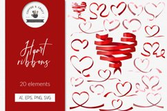 Heart ribbons Product Image 1