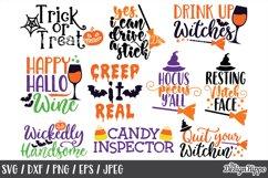 Halloween SVG Bundle, Sayings, Kids, Boys, Girls, Cut Files Product Image 3
