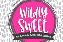 Wildly Sweet Handwritten Font Product Image 1