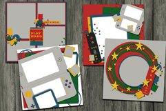 Play Hard Gaming Themed Digital Scrapbooking Templates Product Image 3