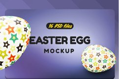 Easter Egg Mockup Product Image 2