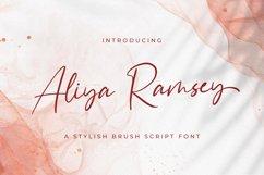 Aliya Ramsey - Handwritten Font Product Image 1