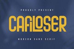 Cafiloser - Modern Sans Serif Product Image 1