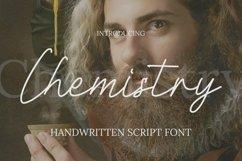 Web Font Chemistry Font Product Image 1