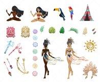 Tribal Spirit Clip Art Product Image 4