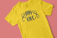 thanks darling - a cute & sweety font Product Image 3