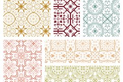 Moroccan digital paper - hand drawn seamless pattern Product Image 2