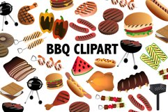BBQ Clipart Product Image 1