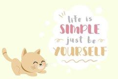 Web Font Sweety Cat Product Image 3