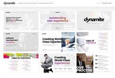 Dynamite - Creative Company Keynote Presentation Template Product Image 5