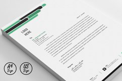 Letterhead Pad Template With Word Apple Pages Format Product Image 2