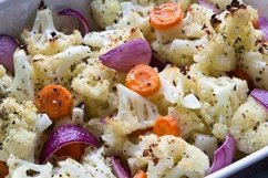 Vegetables is oven. Product Image 1