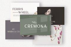 Cremona - Minimal Sans Serif Product Image 2