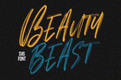 Alosia SVG Brush Font Free Sans Product Image 2