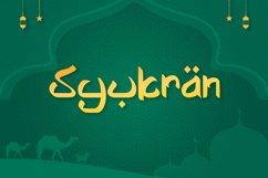 Shayan - Arabic Font Product Image 3
