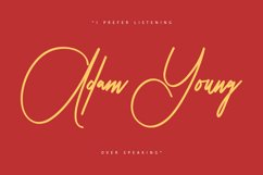 Peter Jhons - Signature Font Product Image 4