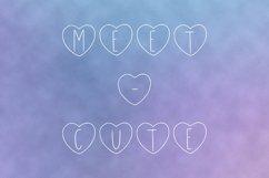 Meet-Cute handwritten font Product Image 2
