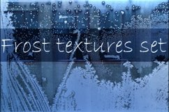 Winter windows with frost textures Product Image 1