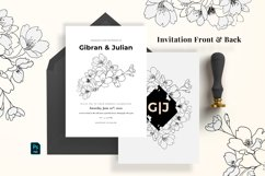 Modern Sketch Wedding Suite Product Image 2