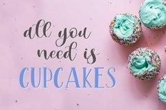 Web Font Mint Cupcake Font Duo Product Image 5