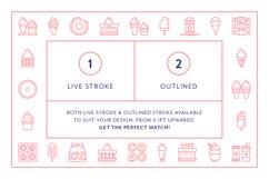 Line Icons - Dessert Product Image 7
